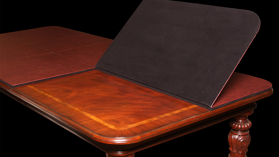 Custom Dining Table Pad Custom Dining Table Pads - Table pads for sale