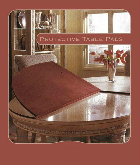 Custom Dining Table Pad Custom Dining Table Pads