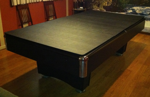 Pool Table Pad Custom Dining Table Pads - Mckay custom table pads